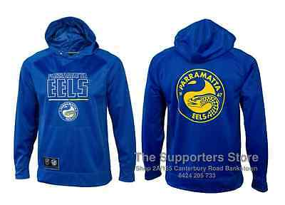 Parramatta Eels 2016 NRL Mens Polyester Hoody/Hoodie Size S-5XL! BNWT's!