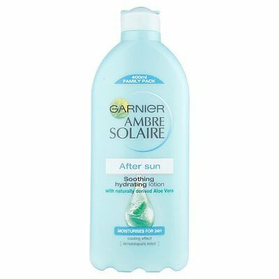 Garnier Ambre Solaire After Sun Lotion 400ml Fast Free Shipping NEW