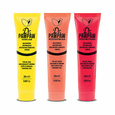 DR PawPaw Multipurpose Balms 25 ml 3 Colours Available