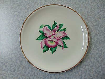 Paden City Pottery MODERN ORCHID Dinner Plate 9 3/8  Inches