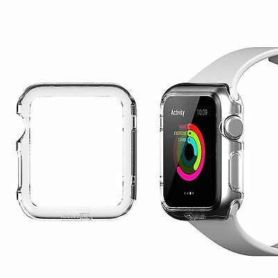 Apple Watch Case, JETech® 42mm Apple Watch Protective Case (Crystal Clear) NEW