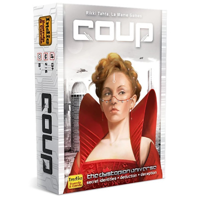 Coup The Resistance Universe Card Game