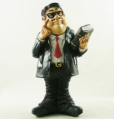 Male Solicitor Figure Figurine Birthday Gift Funny Lawyer Statue Cake Topper NEW