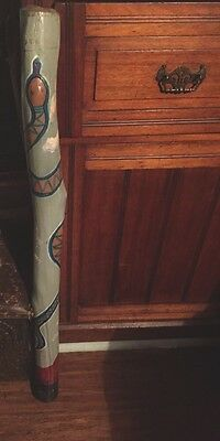 Genuine Hand made Hand painted Didgeridoo + Bonus instrument