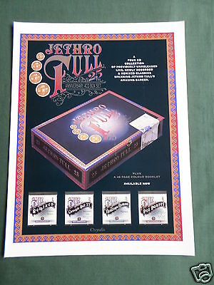 Jethro Tull - Magazine Clipping / Cutting- 1 Page Advert