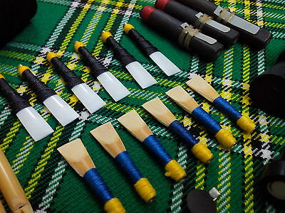 Highland Bagpipe Cane Reeds/Scottish Bagpipe Practice Chanter Syntactic Reeds