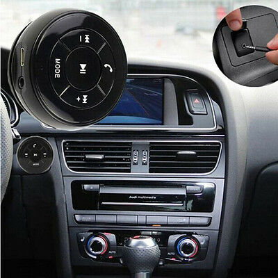 Auto Vivavoce Audio Bluetooth Ricevitore Musicale Adapter 3,5mm Jack AUX
