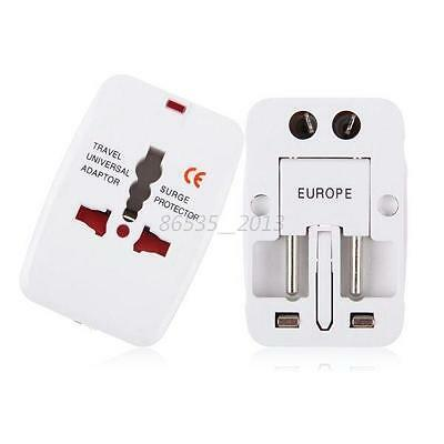 All in One International Travel Power Charger Universal Adapter Plug AU/UK/US/EU