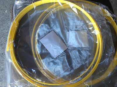 1x CABLE SNAKE YELLOW TONGUE 3.6m LONG,NEW..TRADIES BEST MATE ..