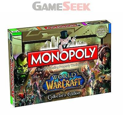 Monopoly World Of Warcraft Games - Toys Brand New Free Delivery