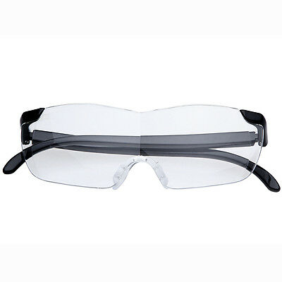 Unisex Pro Magnifying Glasses Magnification Eyewear Reading Magnifier Clear Lens