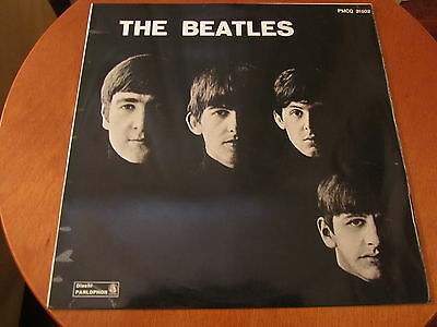 THE BEATLES FIRST LP PMCQ 31502 Italy 1963 INDACO LABEL Great Cover