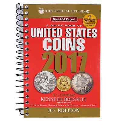 The Official Red Book: A Guide of Book of U.S. Coins 2017 70th Edition Whitman