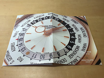 Booklet PATEK PHILIPPE New Model 2006 - World Time Ref. 5130 - All Languages