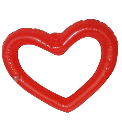 1x Inflatable Large Heart Shape Wedding Party Decoration Beach Pool Event