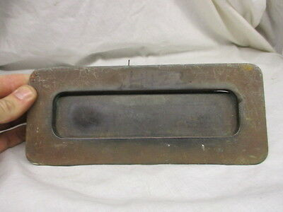 Vintage Brass Letterbox Post Slop Letter Door Hardware