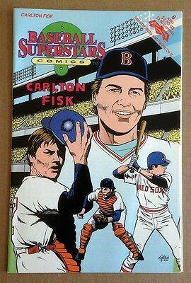 Carlton Fisk Baseball Superstars Comics
