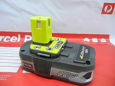 GENUINE RYOBI ONE+ 18V 2.5AH LITHIUM-ION BATTERY Suits Ryobi One+ Range