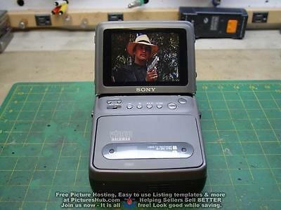 SONY GV-200 Video Walkman Video 8 Player/ Recorder 90 Days Wrty