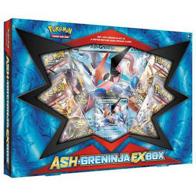 POKEMON TCG Ash-Greninja-EX Box Trading Card
