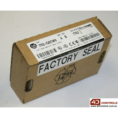 Allen-Bradley 1762-IQ8OW6 8-Ch 24V DC Sink/Source - New Surplus Sealed - Seri...