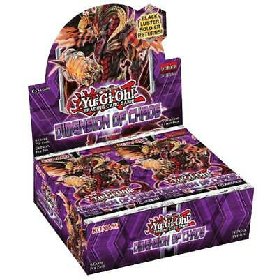 YU-GI-OH! TCG Dimension of Chaos Booster Whole Box Trading Card