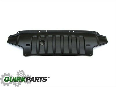 2007-2017 Jeep Wrangler Front Bumper Air Dam Plate MOPAR GENUINE OEM NEW