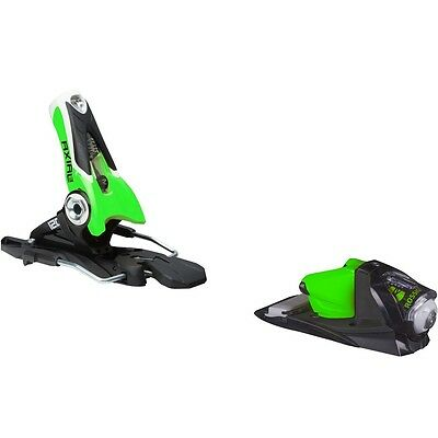 Rossignol Axial3 120 Dual WTR B100 Black/Green 100mm Ski Bindings