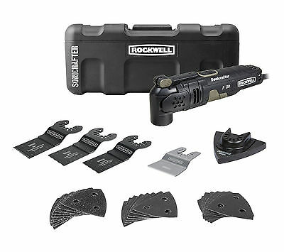 RK5131K Rockwell 32pc 3.5A Universal Sonicrafter F30 Kit with Hyper Lock