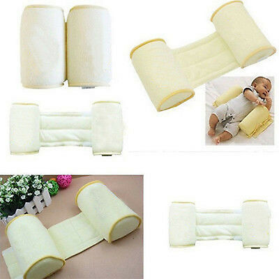 Baby Safe Cotton Anti Roll Support Pillow Sleep Head Nursery Bedding