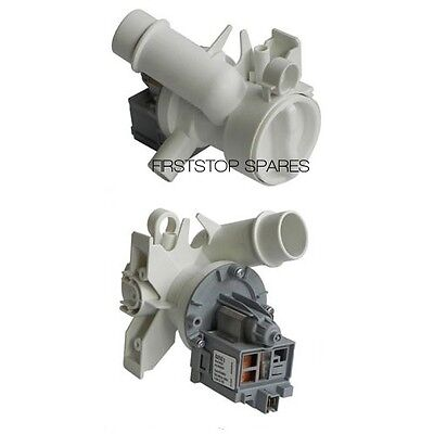 Genuine Hoover / Candy Washing Machine Drain Pump Complete P/n 41018403