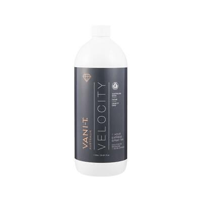VANI-T  VELOCITY  Dark- 1hr Rapid Spray Tan Solution - 12% DHA 1L