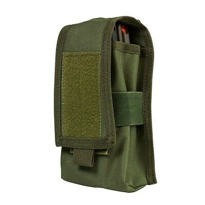 NcSTAR Shot Shell Pouch MOLLE Compatible PALS Straps Holds 17rds Green CV12SHCG