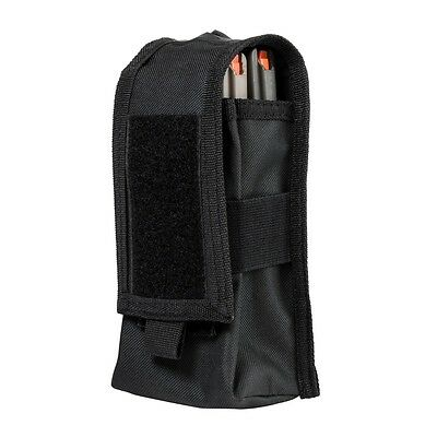 NcStar CV2MRP2972B BLACK Holds 2 Rifle Magazines or Two Way Radio MOLLE Pouch