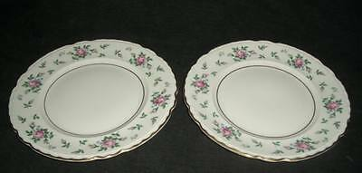 "(1) Sweet Briar Princess China 10 3/8"" Dinner Plate (1)"