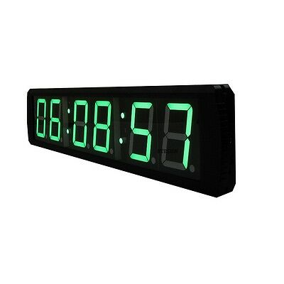 4'' 6Digits Large LED Countdown Clock Countdown Timer With Remote