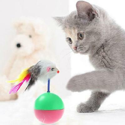 2016 Funny Mice Mouse Tumbler Activity Creative Play Toys for Pet Cat Dog Kitten