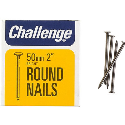 Shaw Challenge Round Wire Nails 25mm Boxed