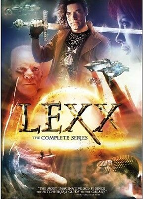 LEXX 1-4 (1997-2002): The COMPLETE Classic Scii-Fi TV Series Season - NEW DVD R1