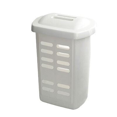 Addis Linen Hamper White