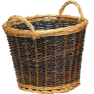 Manor Reproductions Log Basket Duo Tone 37