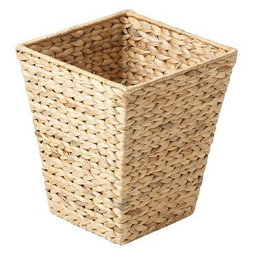 Stow Green Litter Basket Square Hyacinth Natural