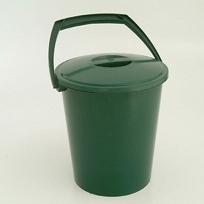 Garland Kitchen Bucket & Lid Green 10L