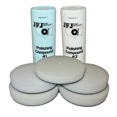 Jfj Easy Pro Supply Pack 2 - Solution & Buffing Pads