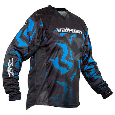 Valken Crusade Riot Paintball Jersey - Blue