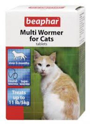 Beaphar Worming Cream, Worming Granules, One Dose Wormer, Cats, Dogs, Puppies
