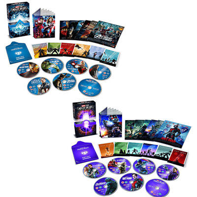 Marvel Cinematic Universe Phase 1 & 2 Collector's Edition DVD Set Clearance