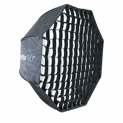 Phottix Pro Easy Up HD Ombrello Octa Softbox con Griglia 80cm