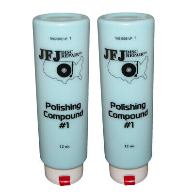 2 x JFJ EASY PRO Polishing Compound Solution #1 Blue 12oz