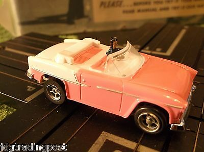 MINT 55 Mary Kay Pink Chevy AURORA AFX Chassis T Jet Slot Car Race Track Sets